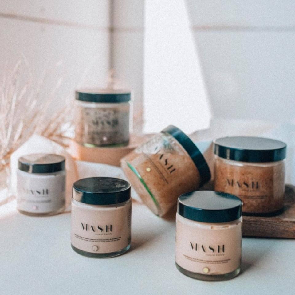 Naturalne kosmetyki do pielęgnacji ciała MASH Natural Beauty ze świetnymi właściwościami składników.